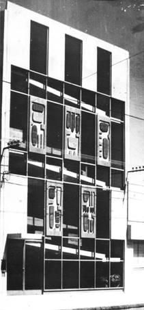Primer inmueble inaugurado en 1963